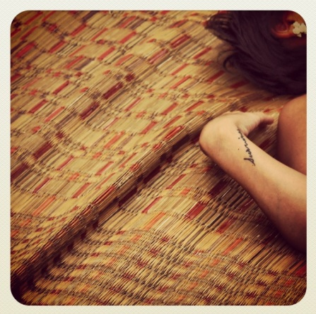 Lara's tattoo